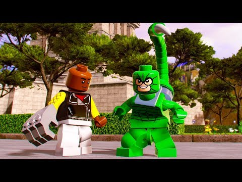 LEGO Marvel Super Heroes 2 Scorpion Unlock Location + Free Roam Gameplay