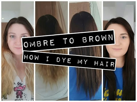 Ombre to Brow: How I Dye my Hair