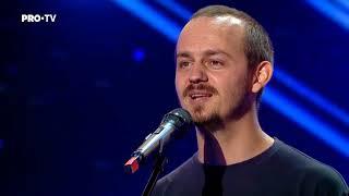 Romanii au talent 2018 - Victor Miron - Spoken word poetry