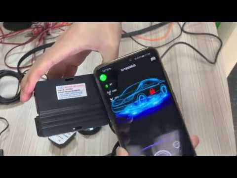 cardot smart phone car alarm sharing authorization function introduction by kris