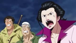 One Piece: Aukinu Attacks Ace (english Dub)