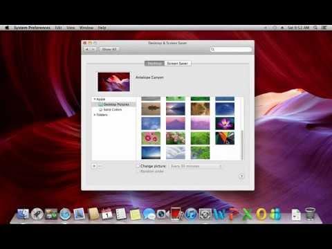 How to Set Desktop Background Mac