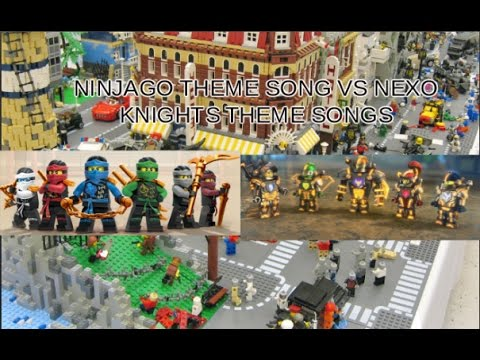 Lego Nexo Knights Seasons 1 VS  2 Vs  Ninjago Theme Song