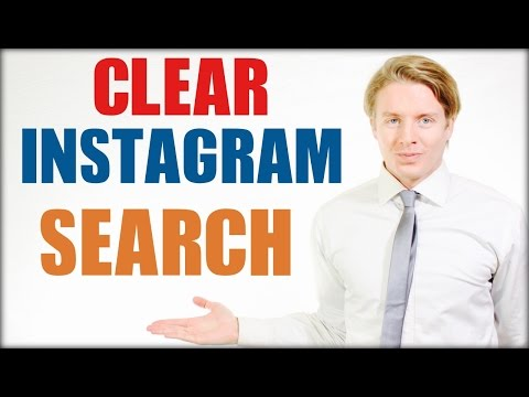 How to clear and delete Instagram search history in 2016 Tutorial
