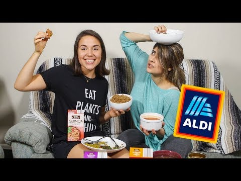 TASTE TEST: Vegan Meals from ALDI 🤔
