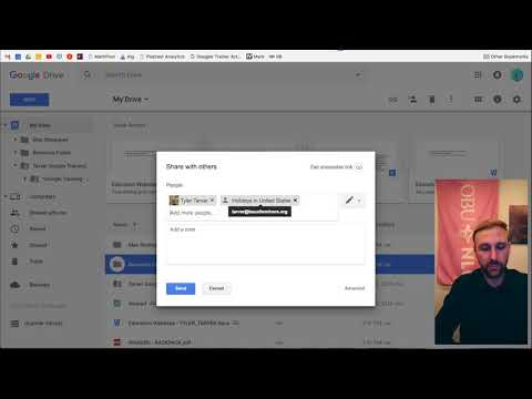 Sharing a Resource Folder // Google Drive