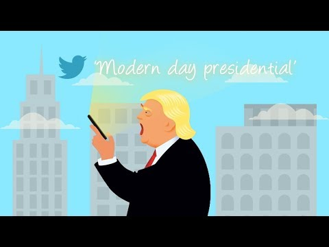 Top 5 countries mentioned in Trump's tweets