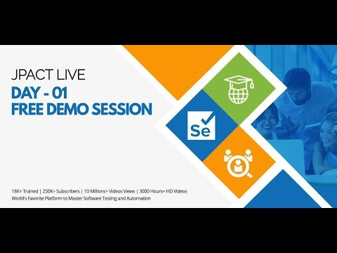 JPACT DAY 01 Free Demo Session  -  ITeLearn