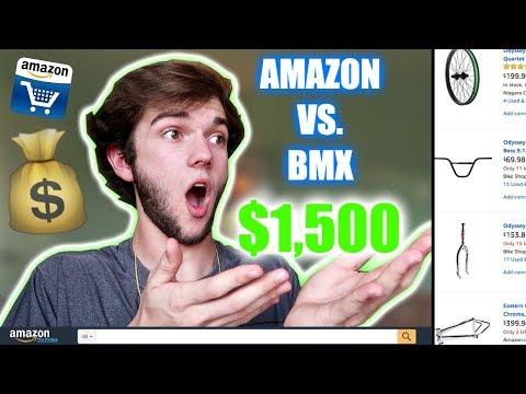 BUILDING A $1,500 BMX BIKE ON AMAZON - DOES IT WORK?