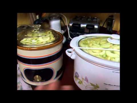 Canning Applesauce (simplified) September 2013