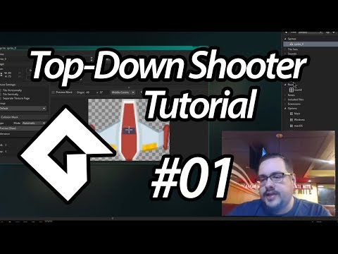 GameMaker Studio 2 Top-Down Shooter Tutorial - #01 - Setting up our Game