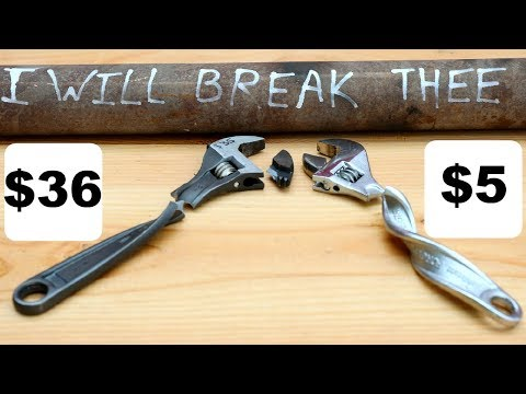 Testing Cheap V.S. Expensive Wrenches On AMAZON