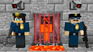 I GOT ARRESTED... (MINECRAFT PRISON ESCAPE!)