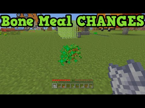 Minecraft Xbox 360 + PS3 - Bone Meal Tutorial TU19 - How To Grow Mushrooms / Trees