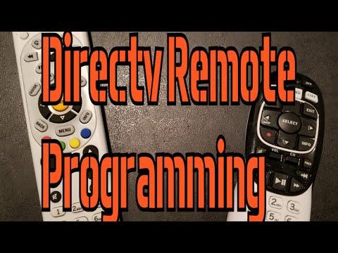 Directv Remote Programming
