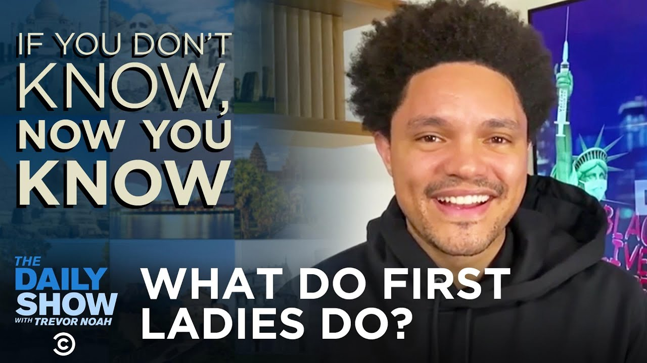 First Ladies - If You Don't Know, Now You Know | The Daily Social Distancing Show
