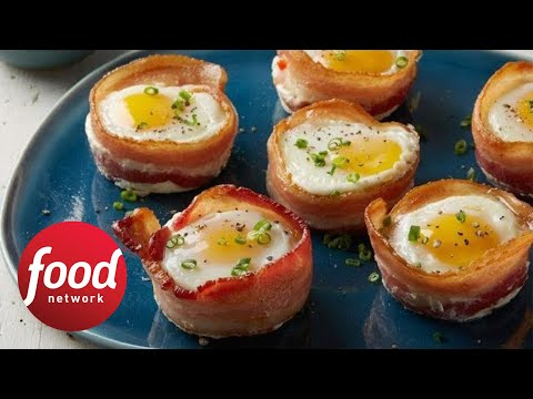 Whole30 Bacon and Egg Cups | Food Network
