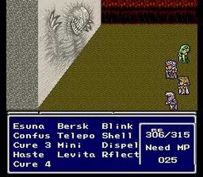 Final Fantasy IV Playthrough (64) The Demon Wall