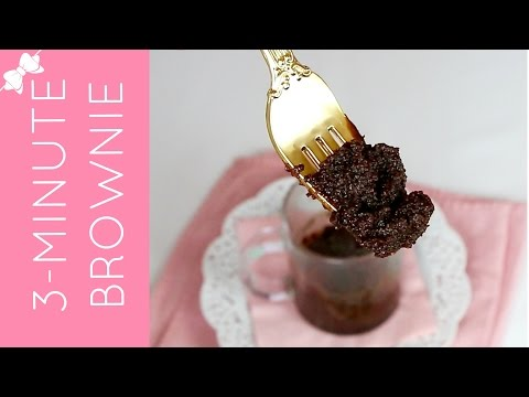 How To Make THE BEST Microwave Molten Brownie in a Mug (egg-free, dairy-free) // Lindsay Ann Bakes