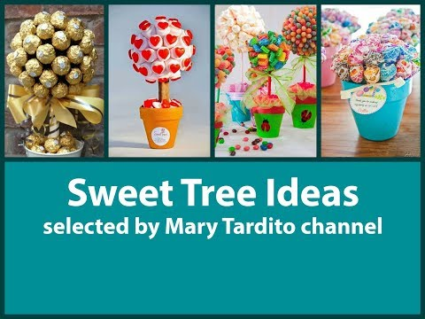 Sweet Trees Ideas – Crafts to Make and Sell – Party Decor Ideas