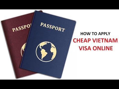 How to apply cheap Vietnam visa online