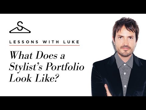 What Does A Stylist's Portfolio Look Like?