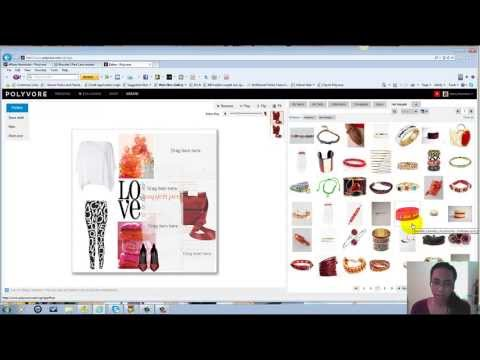 How To Create A Collage On Polyvore (Tutorial)