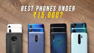 Best Phones Under ₹15,000 in 2019?