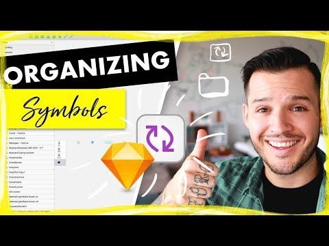 Organizing Symbols in Sketch for Mac | Sketch Design Tutorial