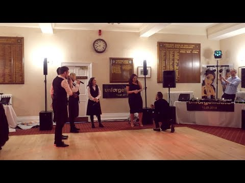 Amazing Singing Waiters Surprise Proposal at Birthday Party!!