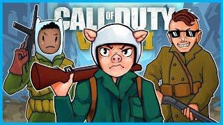 Call of Duty: World War II Sweaty Hour #2! - SnD Gameplay Fun w/ WILDCAT, Moo, and Basically!