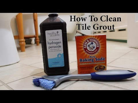 How To Clean Tile Grout No harsh Chemicals Fast, Easy, To The Point