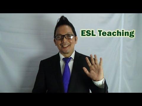 Self Introduction: ESL Teaching
