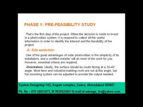 Pre feasibility study System Designing 919898368188