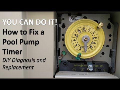 How to Fix a Pool Pump Timer (DIY Diagnosis and Replacement)