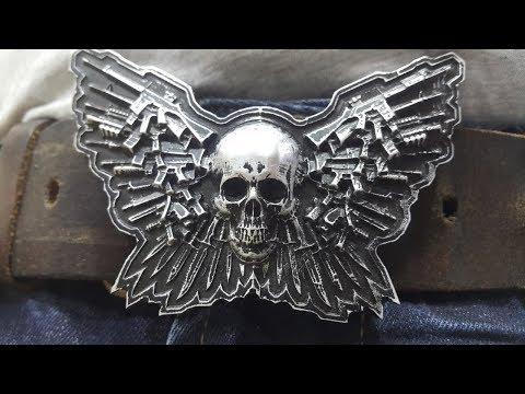 Mirock CNC Skull Belt Buckle