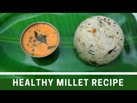 Simple Millets Upma Recipe | Kuthiraivali Upma | Tamil Food Corner
