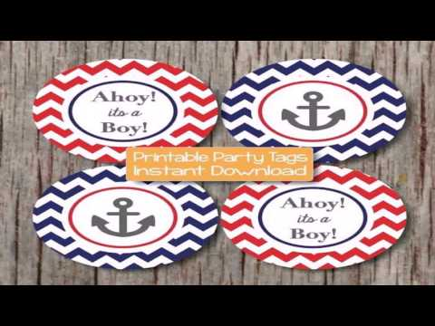 Diy Nautical Baby Shower Decor