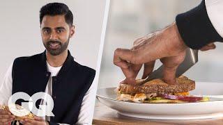 Hasan Minhaj Makes His Signature Sandwich: The Minhaj à Trois   GQ