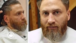 Best Way to Trim a Medium Beard | Barbershop Series