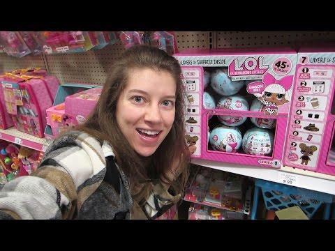 Toy Hunt #54! Num Noms Plush, LOL Surprise Dolls, New Minecraft Plush, Grossery Gang Series 2