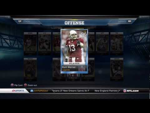 Madden 13 Ultimate Team: The Beginning