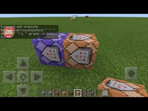 Tnt arrow command mcpe