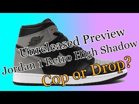 Jordan 1 Retro High Shadow - Unreleased Preview