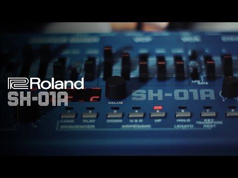 Roland SH-01A Synthesizer Sound Demo