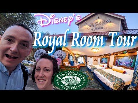 Arriving At Disney's Port Orleans Riverside Resort | A REALLY ROYAL ROOM TOUR