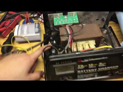 Symptoms of Bad Circuit Breaker Schumacher Battery Charger (Anti-Throw Away Society)