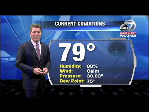 Video: First Alert Weather - 11pm June 1, 2018