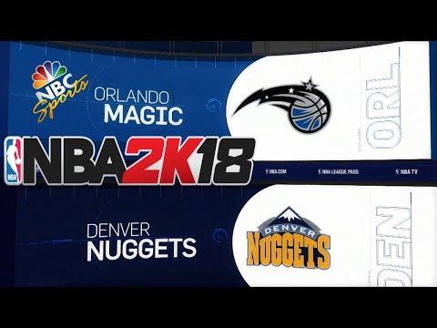 NBA 2K18 (PC) NBC SPORTS SCOREBOARD V1.2 TEST