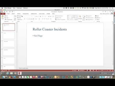 How to Change the Layout of Slide in PowerPoint 2013
